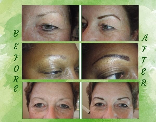 Powder Fill Permanent Eyebrows - Lasting Looks of Sarasota